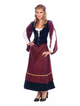 Women's Medieval Wench Adult Costume