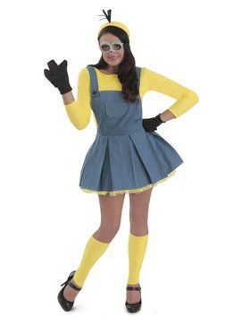 Womens Minions Jumper Costume