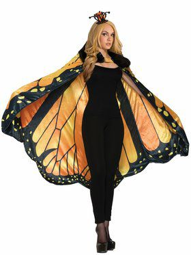 Beautiful Monarch Butterfly Cape