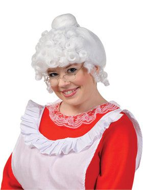 Women's Mrs. Claus Wig