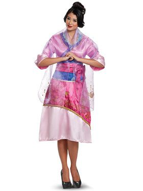 Mulan Deluxe Costume For Women