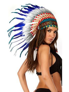 Women's Native American Headdress