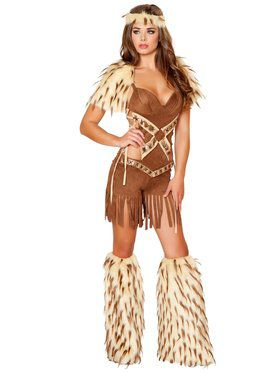 Women's Native American Warrior Sexy Costume