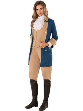 Patriotic Woman Costume for Adults