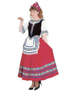 Womens Peasant Lady Costume