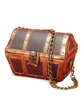 Women's Pirate Chest Purse