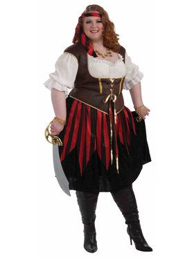Pirate Lady Costume For Adults