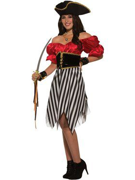 Pirate Matey Lady Womens Costume