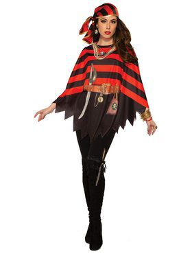 Pirate Poncho for Women