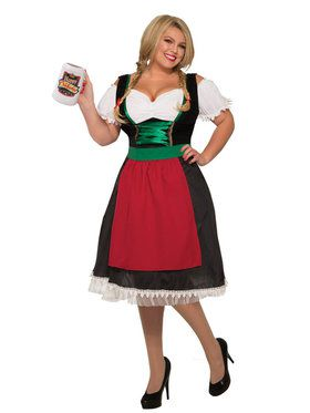 Womens Plus Size Fraulein Adult Costume Costume