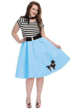 Women's Poodle Skirt - Plus