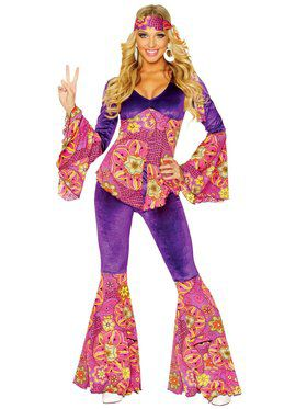 Women's Purple Power Costume