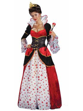 Queen Of Hearts Costume For Adults
