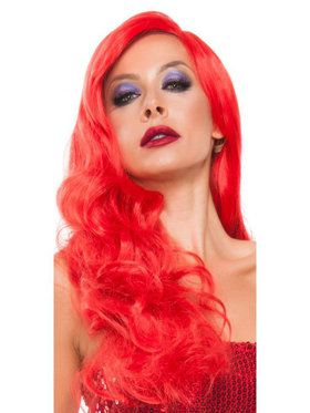 Women's Red Hot Rabbit Sexy Wig