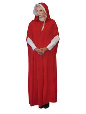 Red Maiden Costume for Women