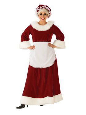 Womens Regal Mrs. Claus Costume