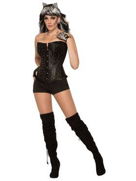 Rhinestone Corset for Women