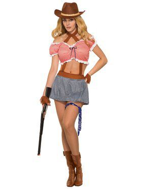 Womens Ridem' Cowgirl Costume