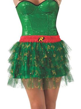 Women's Robin Skirt with Sequins