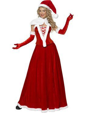 Women's Romantic Miss Santa Costume