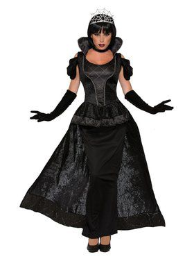 Womens Dark and Royalty Queen Costume