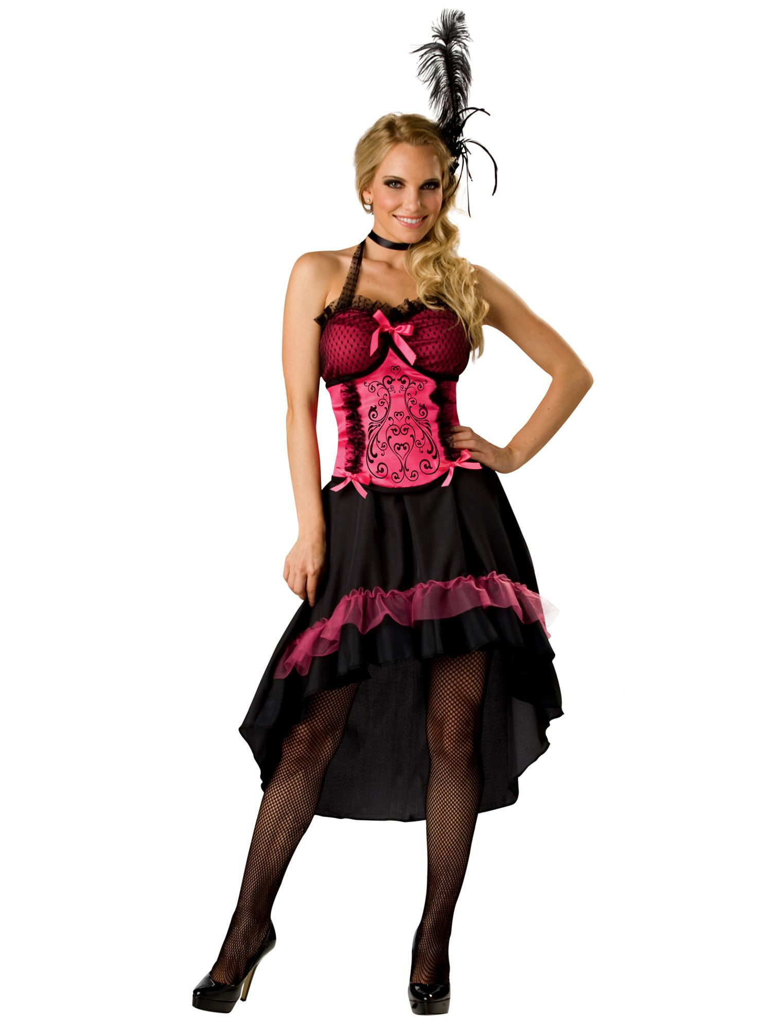 Incharacter Wild West Saloon Gal Costume For Women