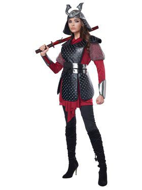 Samurai Warrior Women's Costume