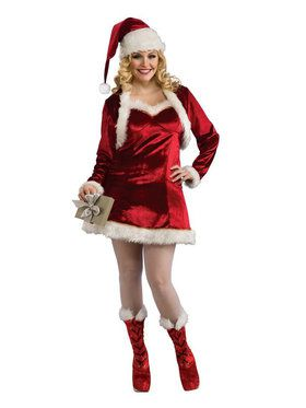 Santa's Helper Dress Plus for Women