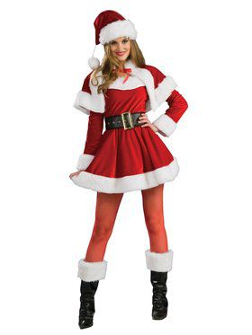 Santa's Helper Dress Costume for Women