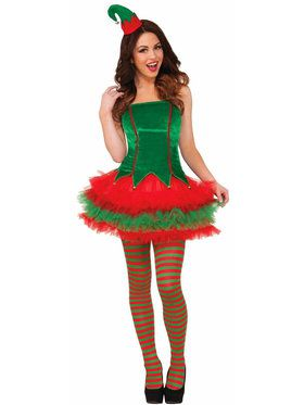 Sassy Elf Costume For Women