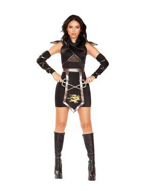 Sexy Women's Ninja Warrior Costume