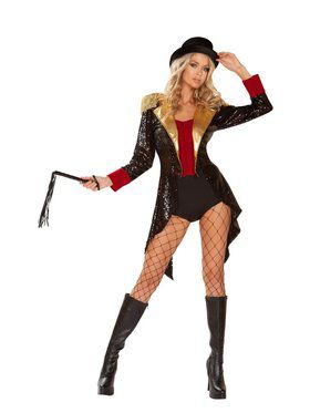 Sexy Women's Ringmaster of Circuses Costume