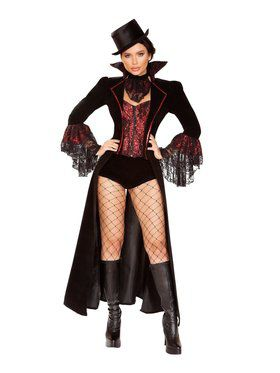 Sexy Women's The Lusty Vampire Costume