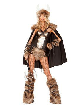 Sexy Women's Viking Warrior Costume