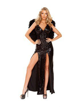 Sexy Women's Wicked Dark Angel Costume
