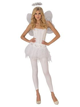 Womens Sexy Angel Costume for Halloween