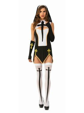 Womens Naughty Nun Costume