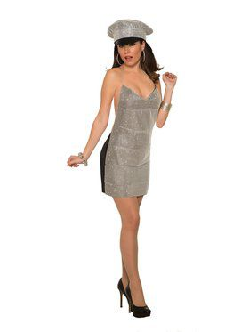 Sexy Club Girl Womens Costume