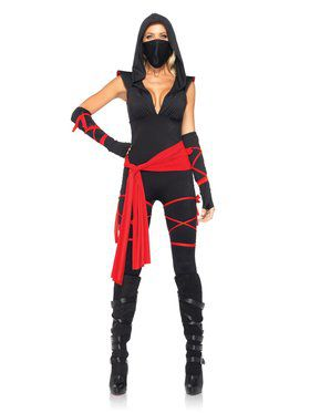 Women's Sexy Deadly Ninja Costume