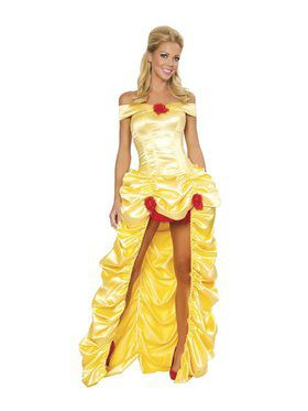Women's Sexy Deluxe Fairytale Princess Costume