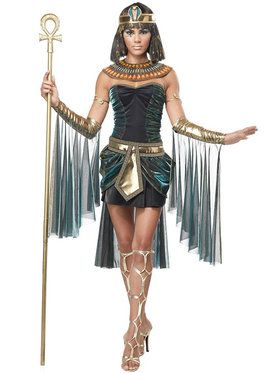 Womens Sexy Egyptian Goddess Costume