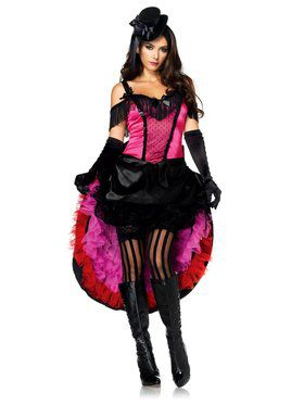 Womens Sexy High Kick Honey Costume