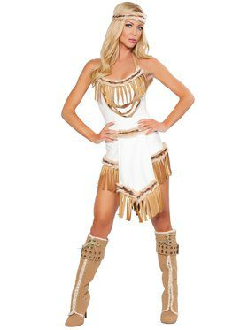 Women's Sexy Indian Huntress Costume