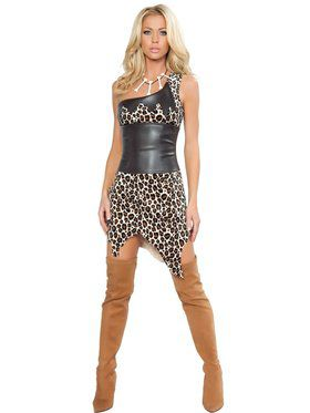 Women's Sexy Jungle Heat Cavewoman Costume