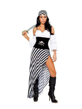 Women's Sexy Pirate Lass Costume