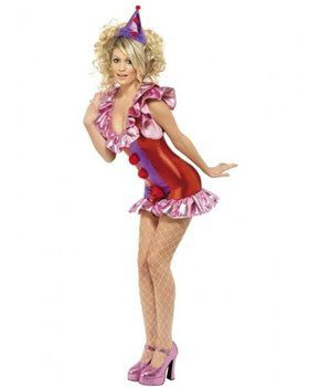 Womens Sexy Playtime Clown Costume