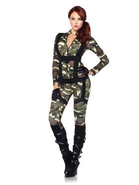 Women's Sexy Pretty Paratrooper Costume