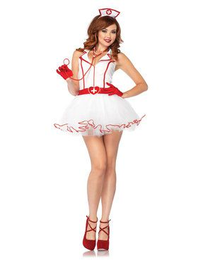 Women's Sexy Ravishing RN Nurse Costume