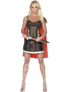 Womens Sexy Roman Gladiator Costume