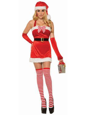 Women's Sexy Santa's Sugar Costume